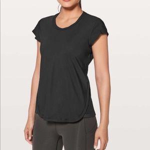 Lululemon Just Pleat It Short Sleeve Shirt